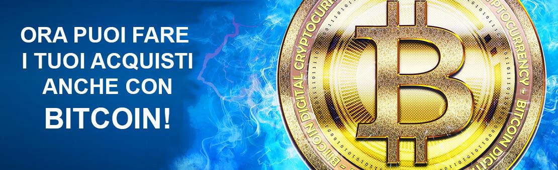 accettiamo bitcoin